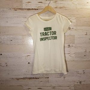 Certified Tractor Inspector graphic tee